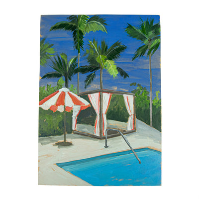 Evie O'Connor, Poolside Cabana (2021)
