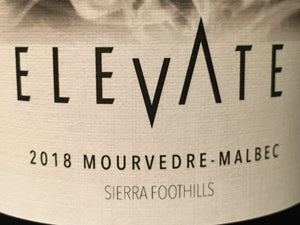 2018 ELEVATE MOURVEDRE-MALBEC