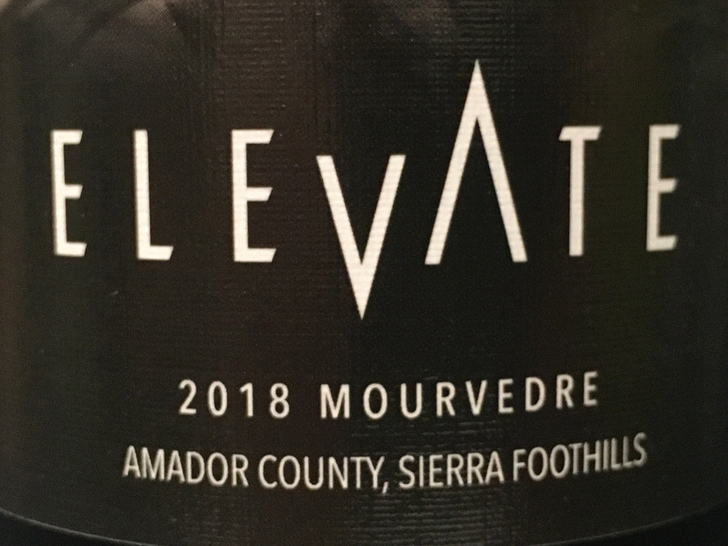 2018 ELEVATE MOURVEDRE