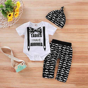 Letter Bodysuit, Cartoon Hat And Pants, zoerea.com