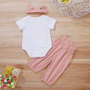 Love Mom Bodysuit And Pants Set, zoerea.com