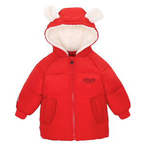 Super Warm Long-sleeve Rabbit Ears Hoodie, zoerea.com