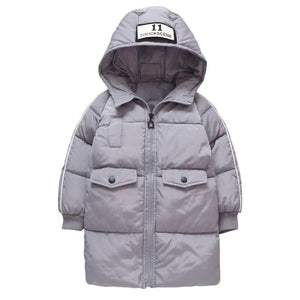 Awesome Thickened Hooded Down Coat - zoerea.com