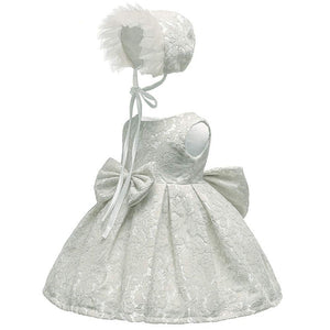 Cute Sleeveless Lace Tulle Party Dress, zoerea.com