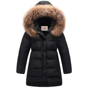 Winter Thickening Button Decor Waterproof Hoodie, zoerea.com