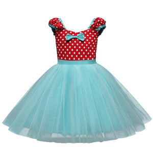 Cute Bowknot Decor A-line Dress, zoerea.com