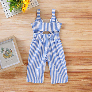 One Piece Bowknot Decor Suspender Pants, zoerea.com