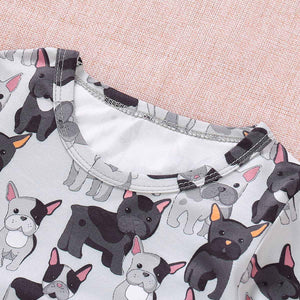 Cute Dog Pattern Jumpsuit For Baby, zoerea.com