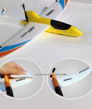 Airplane Toy, Electric Plane Toy, Aeroplane Gliders, Rechargeable Flying Aircraft, Gifts for Kids, zoerea.com