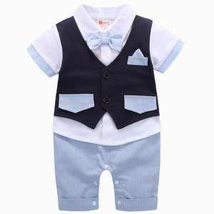 Faux-two Bodysuit And Vest Set, zoerea.com