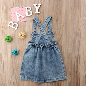 Girl Kids Baby summer Fashion Overalls Clothes Princess dress clothes, zoerea.com