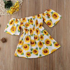 Cute Toddler Kid Baby Girl Clothes Princess Party Prom Floral Dress, zoerea.com