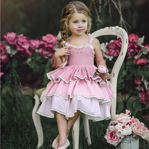 Baby girl Flower Wedding Princess Birthday Party Pageant Dress, zoerea.com