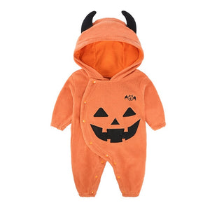 Newborn Baby Clothes Halloween Romper Christmas Costume Outfit Set, zoerea.com