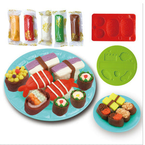 Newest Modeling Dough Hamburger Sandwich Ice Cream Playdough Set, zoerea.com