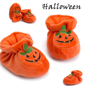 Halloween Pumpkin Toddler Baby Girls Boys Casual Crib Soft Shoes 0-18M, zoerea.com