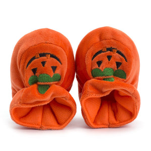 Halloween Pumpkin Toddler Baby Girls Boys Casual Crib Soft Shoes 0-18M - zoerea.com