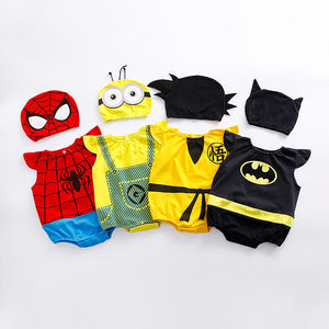 Newborn Baby Cotton Rompers Clothing Halloween Costume Outfit Jumpsuit, zoerea.com