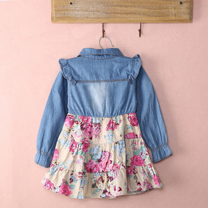 Toddler Newborn Baby Girl  Summer Dress Party Pageant Casual Dress, zoerea.com