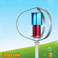 Éolienne Verticale Savonius simple 300w - WINCOLOR - Innovatik Boutique
