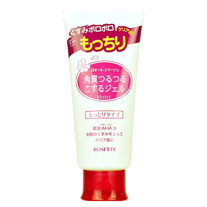ROSETTE Peeling Gel Moist (Red) | Shop Rosette Peeling Gel at ShopChuusi