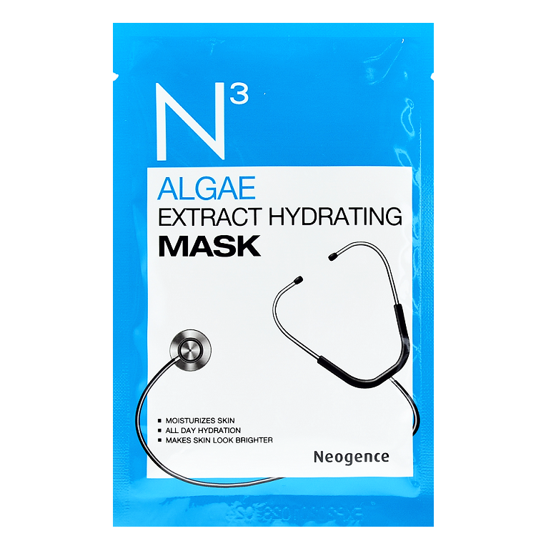 NEOGENCE N3 Algae Extract Hydrating Mask | Shop Taiwanese Sheet Mask at ShopChuusi