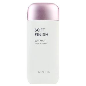 MISSHA All Around Safe Block Soft Finish Sun Milk -- Shop Korean Japanese Taiwanese Skincare at Shop Chuusi