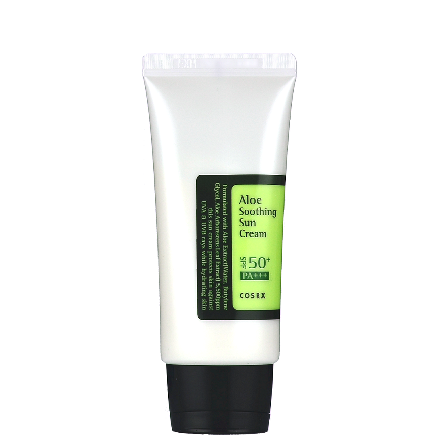 COSRX Aloe Soothing Sun Cream -- Shop Korean Japanese Taiwanese Skincare at Shop Chuusi