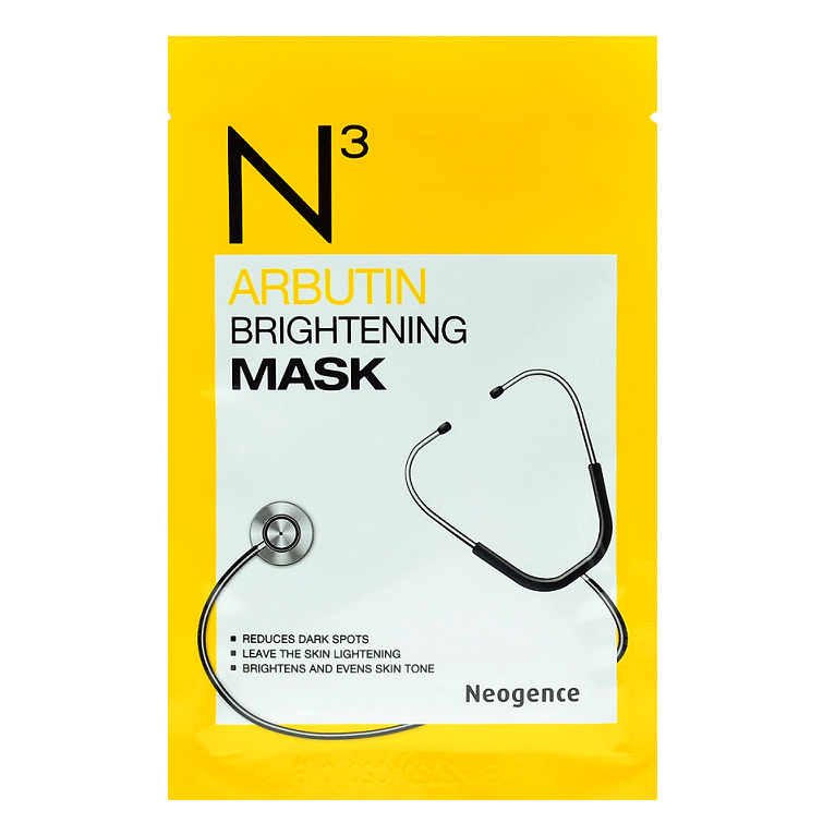 NEOGENCE N3 Arbutin Brightening Mask | Shop Taiwanese Sheet Mask at ShopChuusi