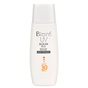 BIORE UV Aqua Rich Watery Jelly Water Base Whitening SPF30 PA++ | Shop Japanese Sunscreen at ShopChuusi