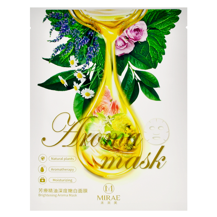 MIRAE Brightening Aroma Mask | Shop Taiwanese Sheet Mask at ShopChuusi