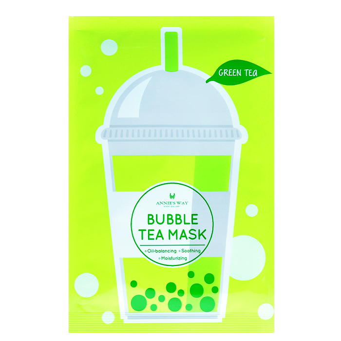 ANNIE'S WAY Green Tea Bubble Tea Mask | Shop Annie's Way Sheet Mask at ShopChuusi