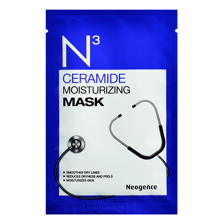 NEOGENCE N3 Ceramide Moisturizing Mask | Shop Taiwanese Sheet Mask at ShopChuusi