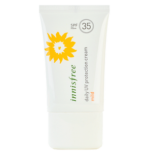 INNISFREE Daily UV Protection Cream Mild -- Shop Korean Japanese Taiwanese Beauty at Shop Chuusi