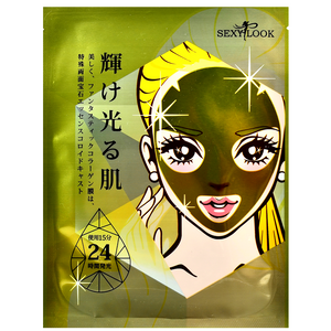 SEXYLOOK Gold + Hyaluronic Acid Restoring Hydrogel Mask | Taiwanese Sheet Masks | Shop Chuusi