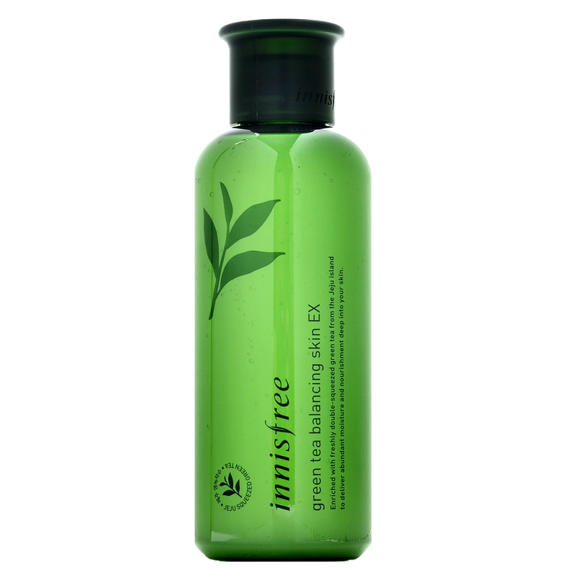 INNISFREE Green Tea Balancing Skin EX | Shop Korean Skincare at ShopChuusi.com