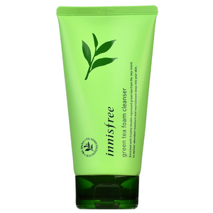 INNISFREE Green Tea Foam Cleanser | Shop Korean Skincare at ShopChuusi.com