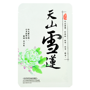 LOVEMORE Herba Saussurea Involucrata Revival Mask Sheet | Shop Taiwanese Sheet Mask at ShopChuusi