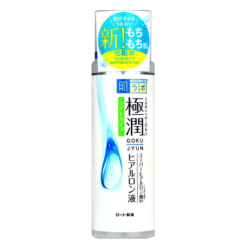 HADA LABO Gokujyun Hydrating Lotion Light | Shop Hada Labo Japanese Skincare at ShopChuusi