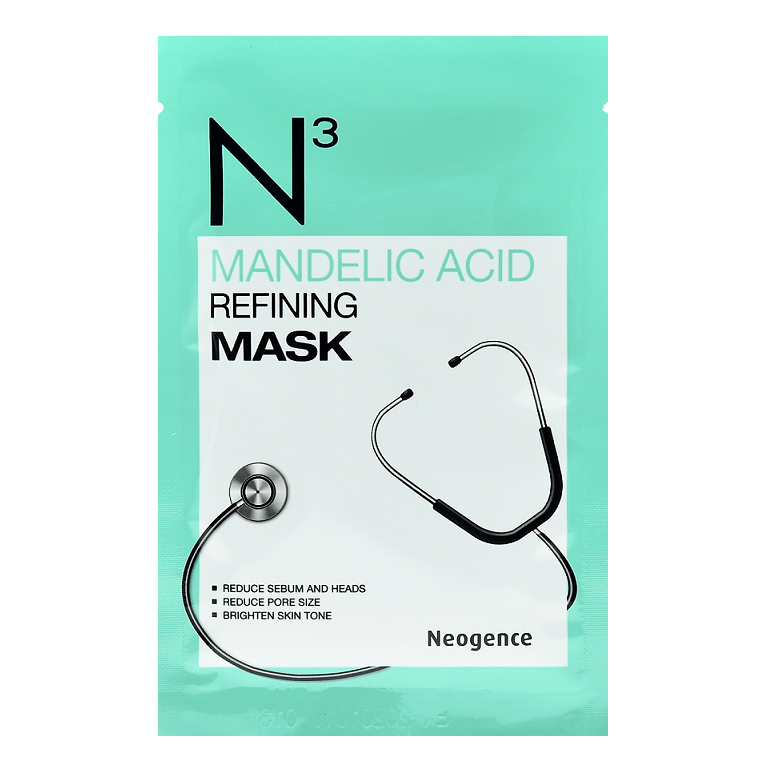NEOGENCE N3 Mandelic Acid Refining Mask | Shop Taiwanese Sheet Mask at ShopChuusi