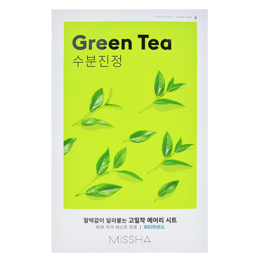 Airy Fit Sheet Mask - Green Tea