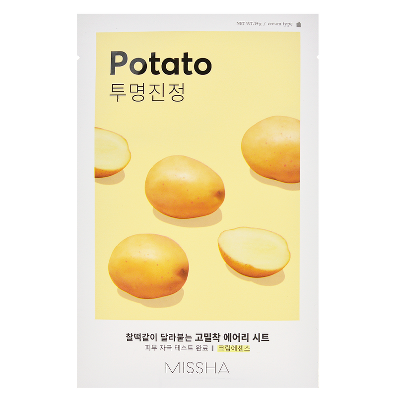 Airy Fit Sheet Mask - Potato