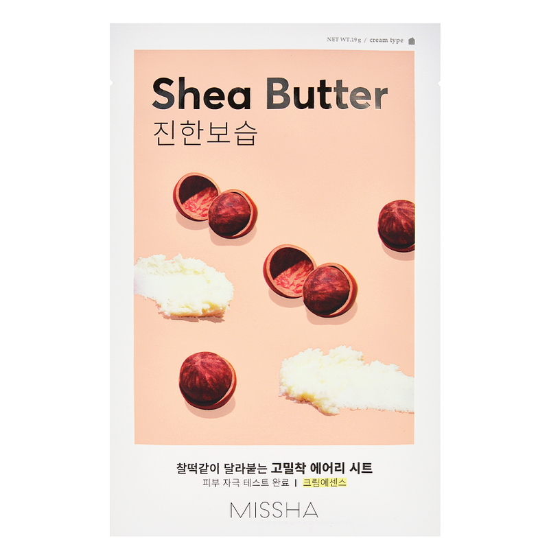 Airy Fit Sheet Mask - Shea Butter