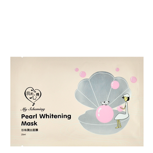 MY SCHEMING Pearl Whitening Mask | Shop Korean Japanese Taiwanese beauty at Shop Chuusi