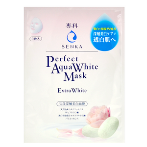 SENKA Perfect Aqua White Mask - Extra White -- Shop Korean Japanese Taiwanese Skincare at Shop Chuusi