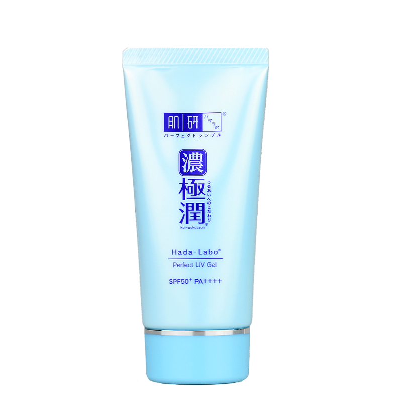 HADA LABO Koi-Gokujyun Perfect UV Gel SPF50+ PA++++ | Shop Hada Labo Japanese skincare at ShopChuusi