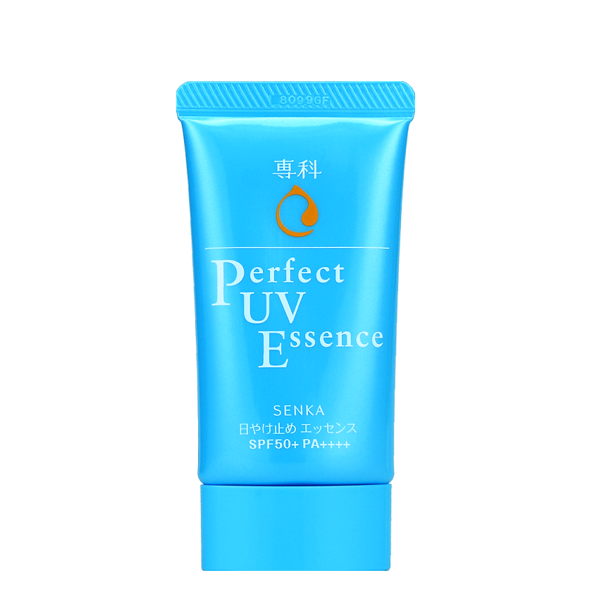 SENKA Perfect UV Essence SPF50+ PA++++ | Shop Senka Japanese Sunscreens at ShopChuusi