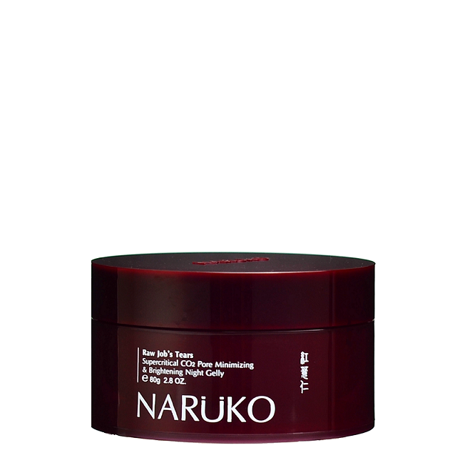 NARUKO Raw Job's Tears Supercritical CO2 Pore Minimizing & Brightening Night Gelly | Shop Taiwanese Skincare at ShopChuusi.com