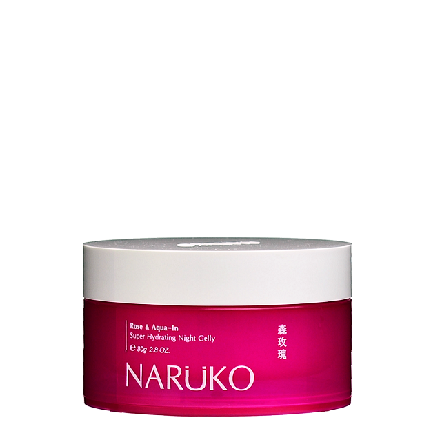 NARUKO Rose & Aqua-In Super Hydrating Night Gelly | Shop Taiwanese Skincare at ShopChuusi.com