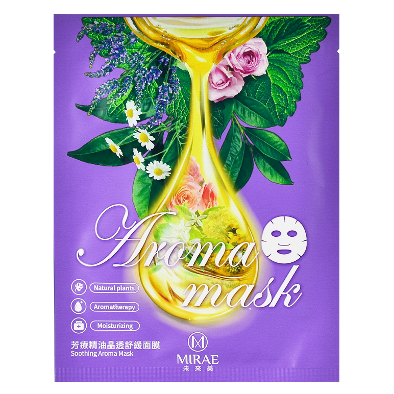 MIRAE Soothing Aroma Mask | Shop Taiwanese Sheet Mask at ShopChuusi
